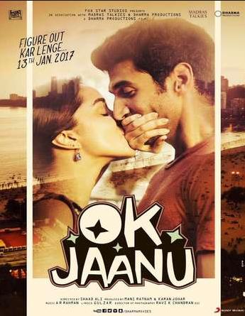Watch Ok Jaanu 2017 Hindi 720p DVDRip 950MB