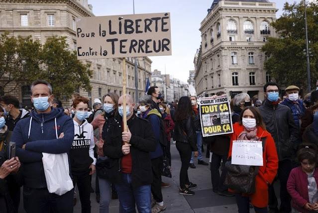 O ισλαμιστικός μεσαίωνας και ο αποκεφαλισμός του Γάλλου καθηγητή