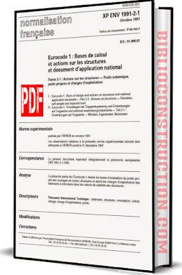 Eurocode 1 : Partie 2-1 : Actions sur les structures — Poids volumique, poids propres et charges d'exploitation