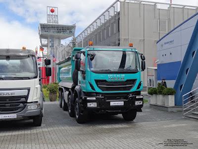 Iveco Trakker 410, KH-KIPPER, AUTOSTRADA-POLSKA 2017
