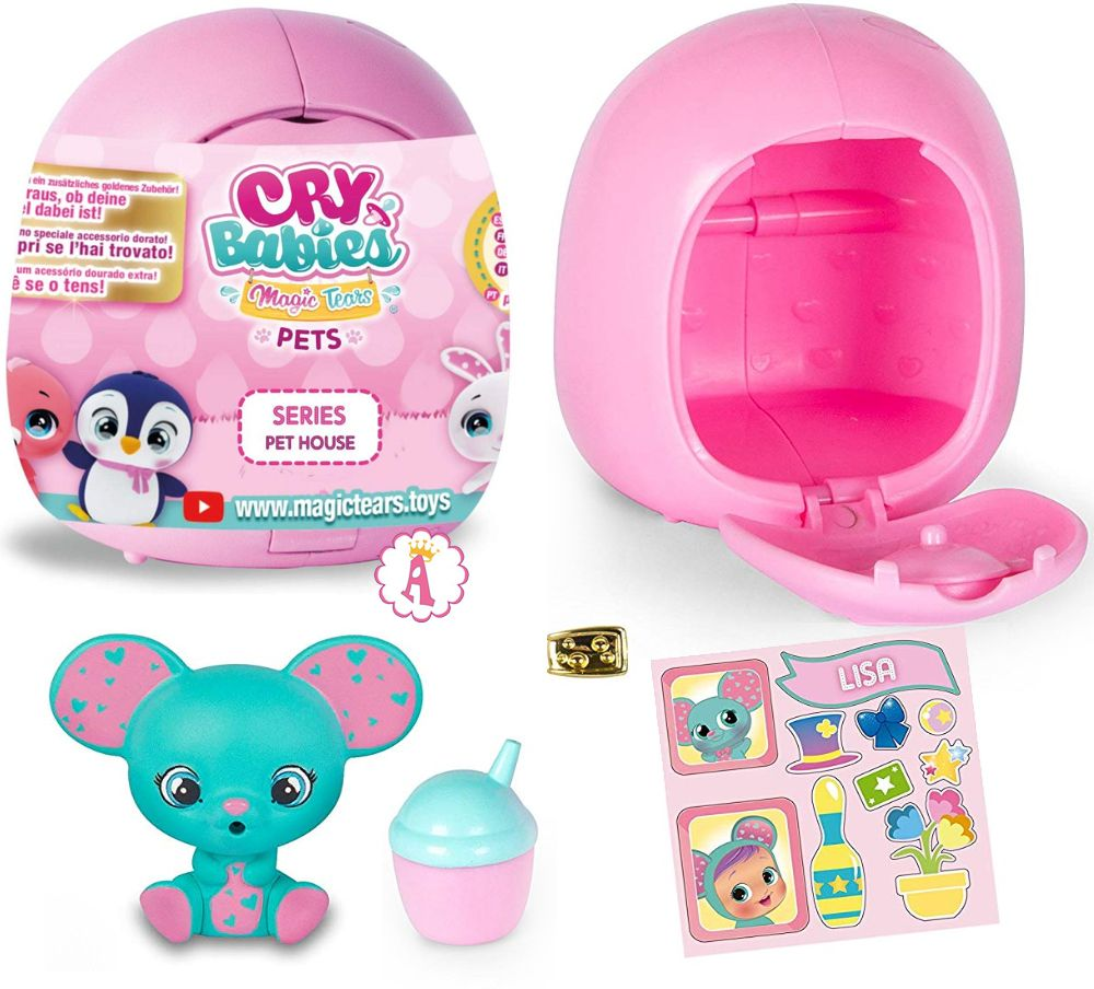 Питомцы плаксы Cry Babies Magic Tears Pets