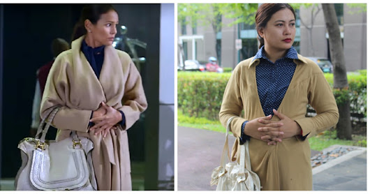 A Love To Last Iza Calzado Inspired Robe Coat Styling
