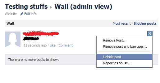 Testing Facebook Pages: The New Profanity Filter - How It