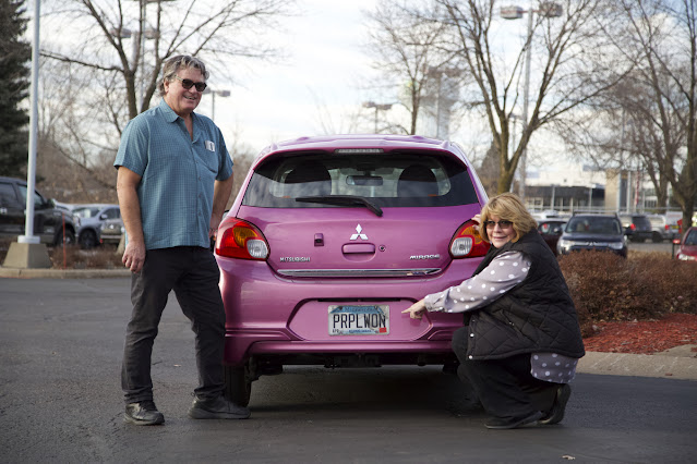 Plasma Purple Mitsubishi Mirage - Subcompact Culture