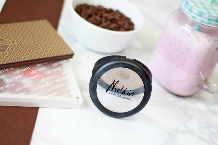 Melkior Professional, Compact Powder | Puder prasowany #Light Ivory
