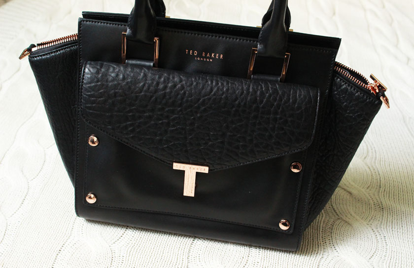 4948e1572 Ted Baker Layally Bag and my thoughts on designer pieces. Worth the splurge