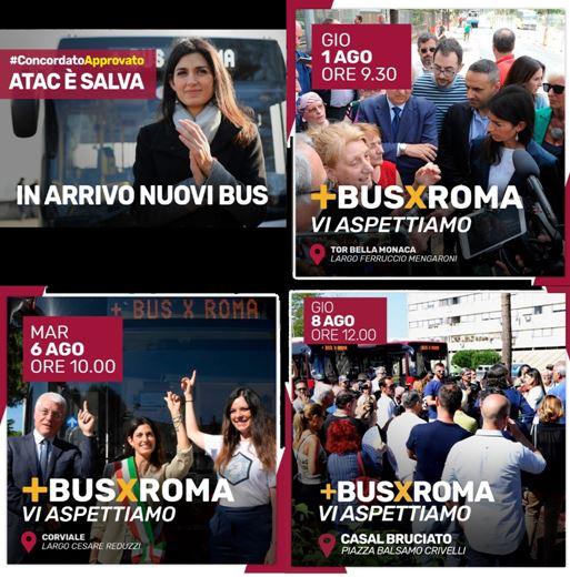 Gli autobus dell'Istituto Luce