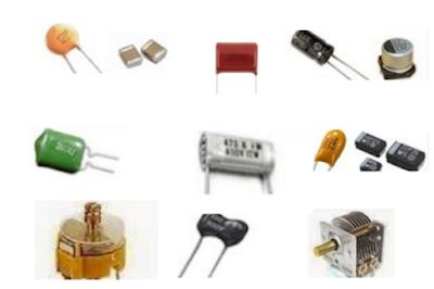Pengertian kapasitor kondensator, gambar kapasitor kondensator capasitor