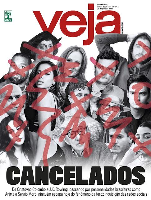 'Cancelados': J.K. Rowling, Johnny Depp e outras personalidades estampam capa da revista Veja | Ordem da Fênix Brasileira