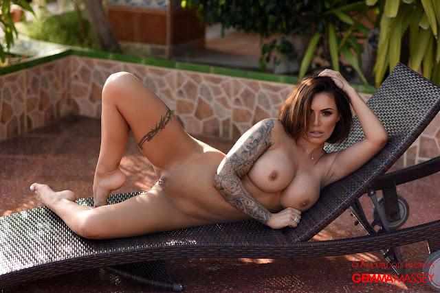 Gemma Massey naked pussy nude tits