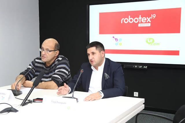 Comienza Concurso de robótica Robotex Armenia