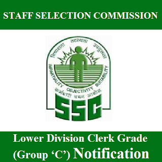 Staff Selection Commission, SSC, Lower Division Assistant, LDC, Group C, 12th, freejobalert, Sarkari Naukri, Latest Jobs, ssc logo