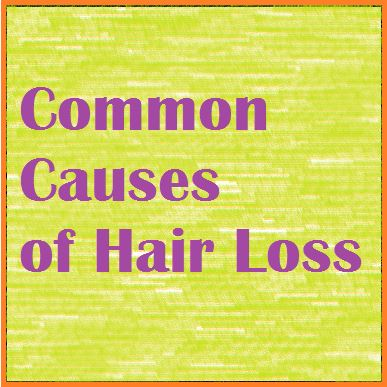Typical Sources Of Hair Loss