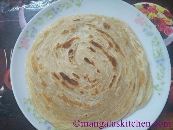 Easy Parotta Recipe | Homemade Soft Layered Parotta | Parotta Kurma Recipe