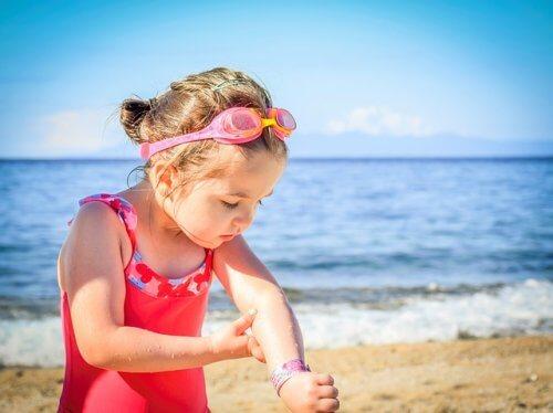 Différents types de marques de naissance chez les enfants