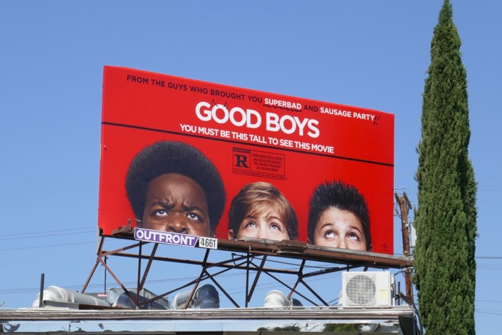 Good Boys movie billboard