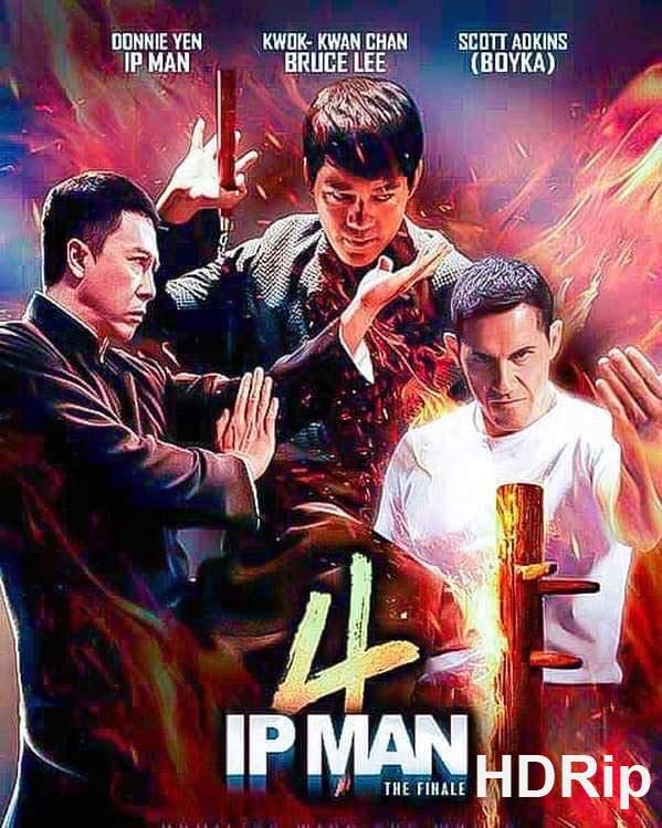 Ip Man 4 The Finale 2019 480p HDRip Dual Audio English Subtitle - Worldtorrentz.com