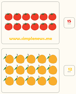 menghitung sayuran dan buah-buahan www.simplenews.me