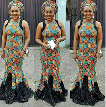 Trendy and current ankara gown styles for wedding