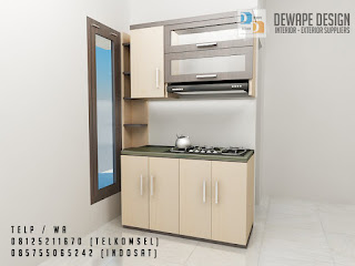 kitchen set untuk rumah minimalis di malang