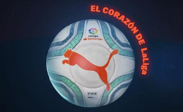 Ла Лига показала новый мяч от Puma