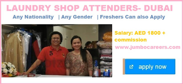 Freshers jobs salary in Dubai: