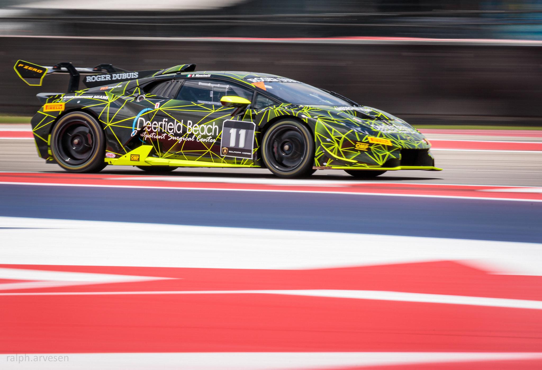 Lamborghini Super Trofeo | Texas Review | Ralph Arvesen
