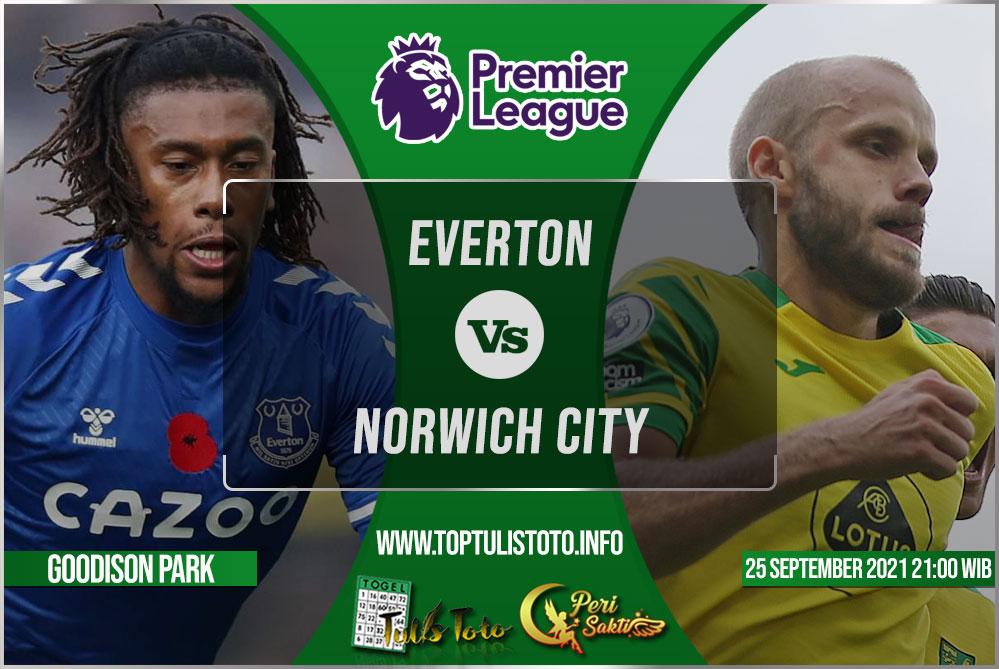 Prediksi Everton vs Norwich City 25 September 2021