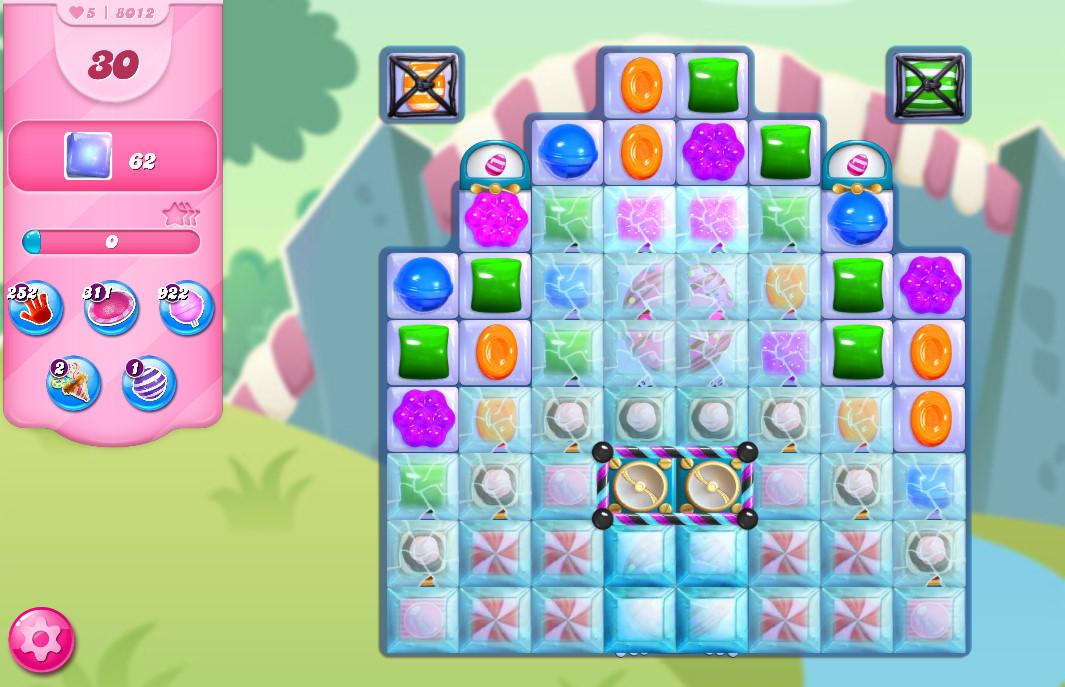 Candy Crush Saga level 8012