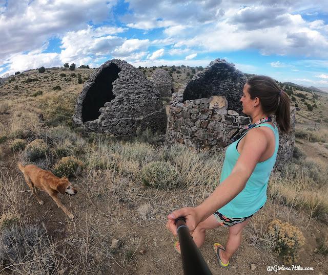 The Beehive Kilns at Frisco, Utah, Frisco Peak