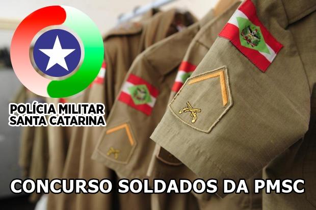 Edital concurso da Polícia Militar de Santa Catarina - Soldado da PM-SC