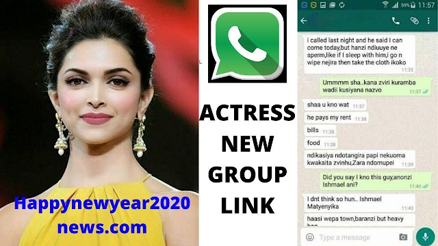Top 20+ Actress WhatsApp Group Links 2020