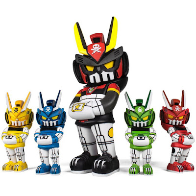 VOLTEQ63 Tigers Vinyl Figure 5 Pack by Quiccs x Martian Toys