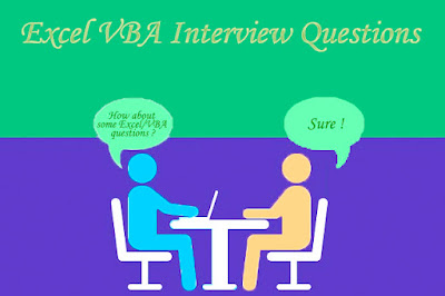 Excel VBA Interview Questions