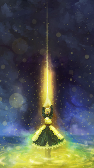Magician with Golden Background iPhone 5 Wallpaper-coolwallpaperforiphone_com