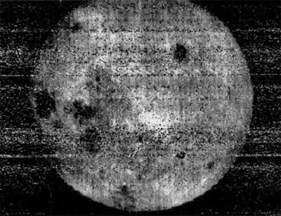 La imagen de la cara oculta de la Luna