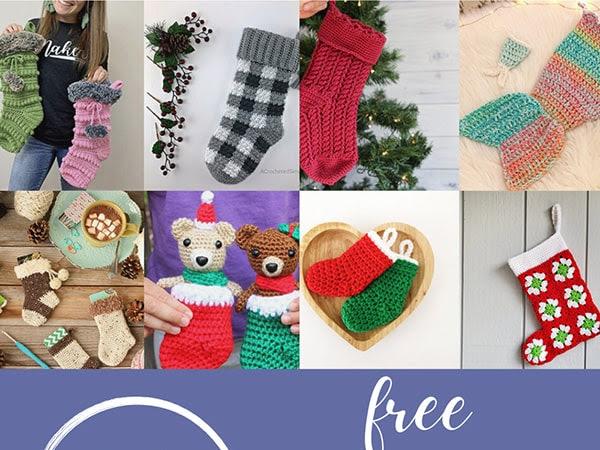 16 Free Crochet Stocking Patterns
