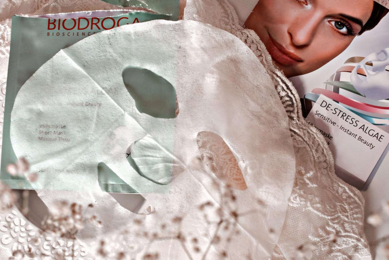 Maska w płachcie De-Stress Algae