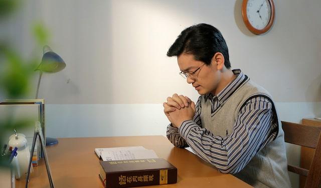 禱告, 讚美, 神的話