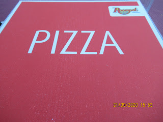 leckere Pizza aus dem Restaurant