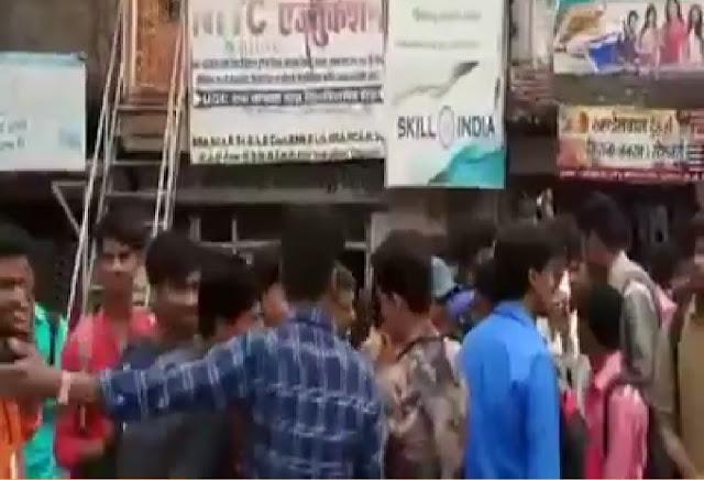 गुना। चांचौड़ा में छात्रों से एडवांस फीस लेकर फरार हुआ कोचिंग संचालक।
