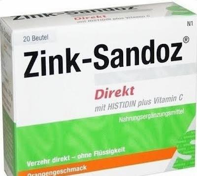سعر أقراص ساندوز زنك Zink Sandoz لعلاج نقص الزنك