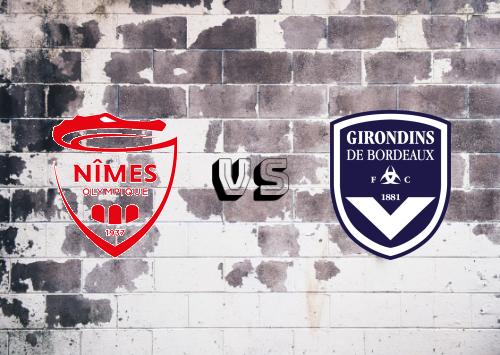 Nîmes vs Bordeaux  Resumen