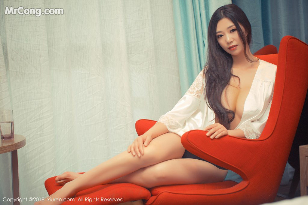 Image XIUREN-No.1007-KiKi-MrCong.com-010 in post XIUREN No.1007: Người mẫu 宋-KiKi (43 ảnh)