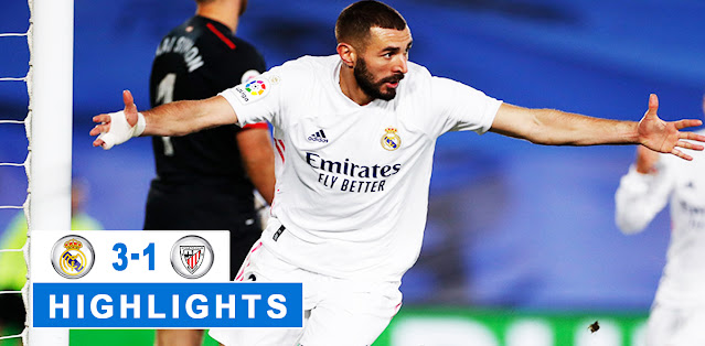 eal Madrid vs Athletic Club – Highlights