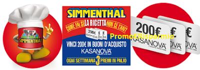 Logo Gioca lo scontrino e vinci buoni spesa Kasanova da 200 euro