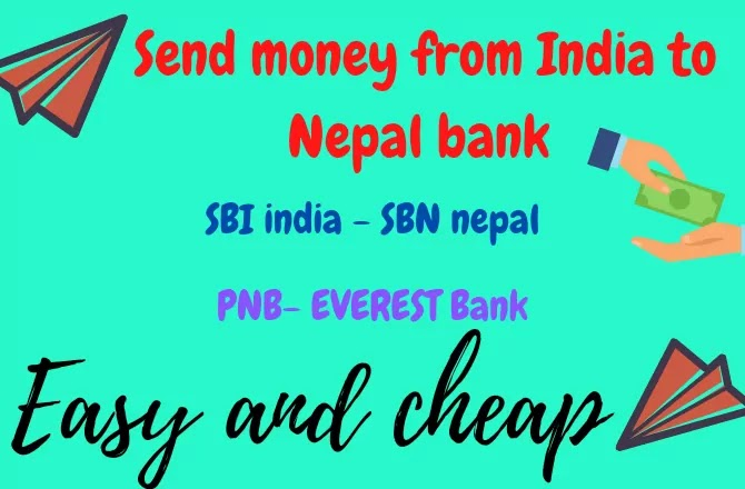 How to send money from India to Nepal bank account