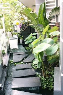Thiết kế sân vườn theo phong thủy 1