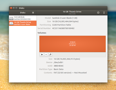 How To Format A Disk Drive as GPT on Ubuntu
