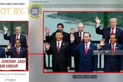 Cek Fakta: Benarkah Jokowi Didukung Pemimpin Dunia untuk Jadi Presiden RI Seumur Hidup? Ini Faktanya
